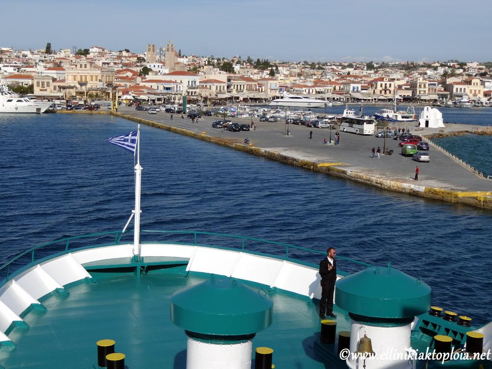 port of Aegina