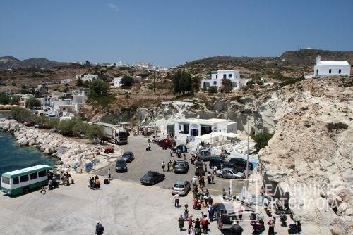 Port of Kimolos