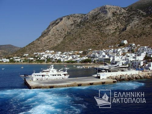 departure from the port of Sifnos