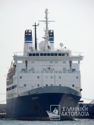 Amet Majesty (ex. Arberia) - Dry Docking