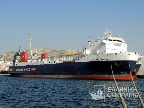 Master (ex. Hellenic Master) - Dry Docking