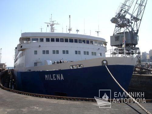 Milena - Dry Docking