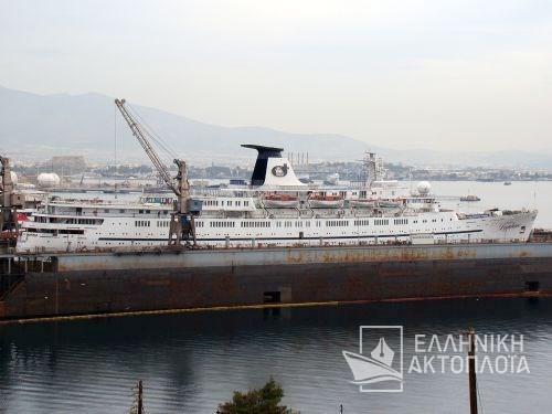 Daphne (ex. Princess Daphne) - Dry Docking