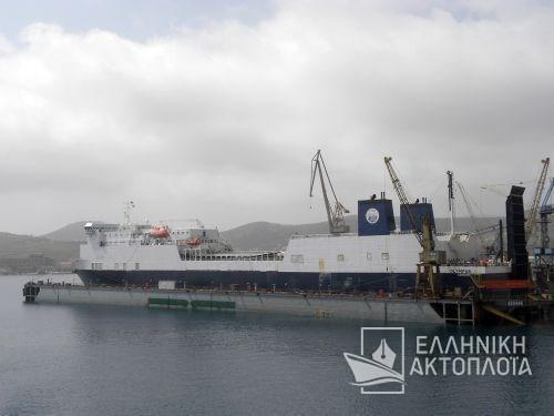 Olympus (ex. Ropax 2) - Dry Docking