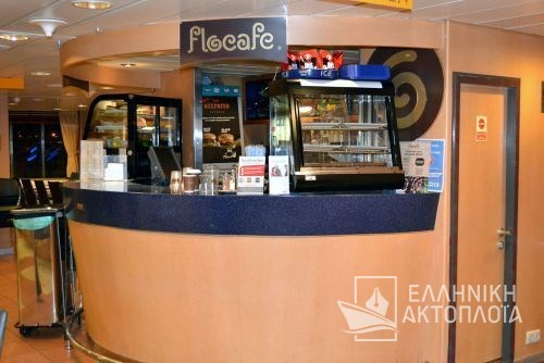 Blue Star Ithaki - Deck 6 - Cafe