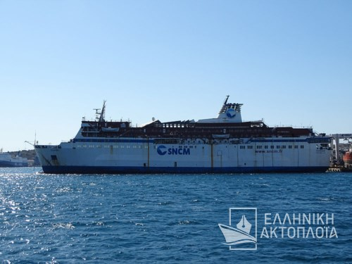 Grand Ferry (ex. Corse) - Dry Docking