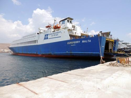 Euroferry Malta - Dry Docking