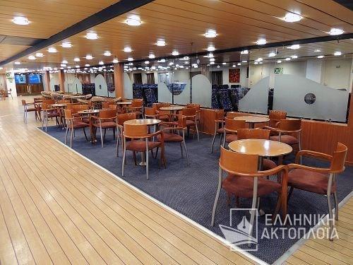 Express Santorini - Deck 5 - Backlounge