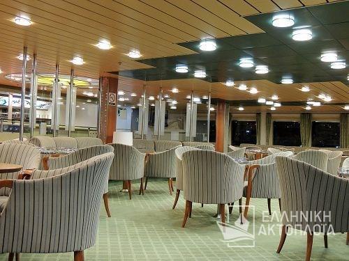 Express Santorini - Deck 5 - Front Lounge