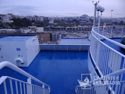 Ikarus Palace - Deck 6 - Opendeck