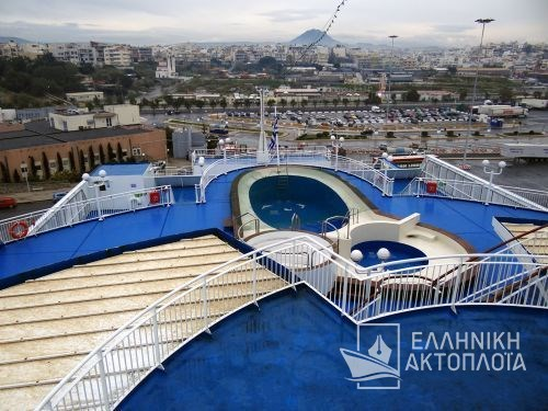Ikarus Palace - Deck 8 - Opendeck