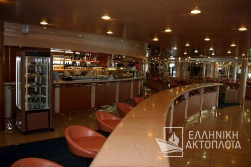 Olympia Palace - Deck 6 - Snack Bar Rea