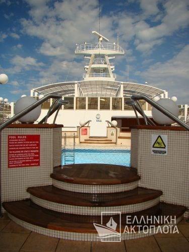 Olympia Palace - Deck 8 - Poseidon Pool Bar