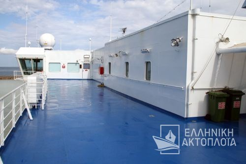 Olympia Palace - Deck 9 - Open Deck