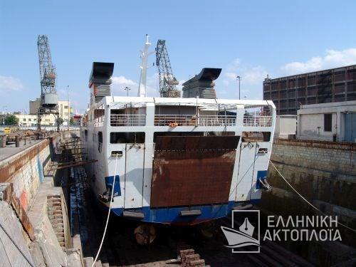 Aylah (ex.Phedra, Thassos VIII) - Photos - Dry Docking