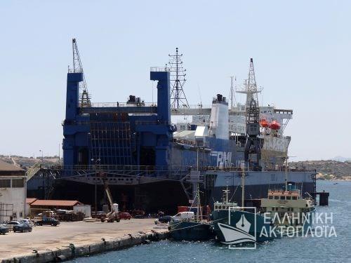 Aziz Express (ex.Ruzgar) - Dry Docking