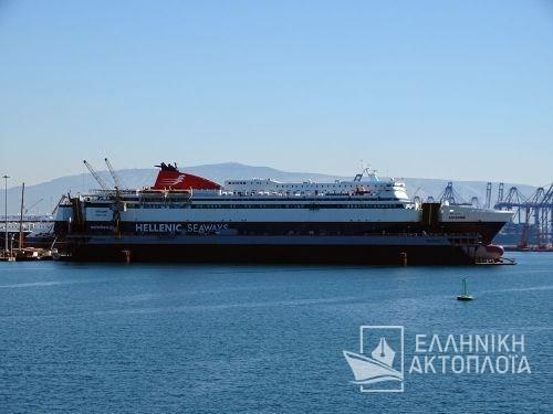 Ariadne - Dry Docking