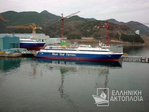 Blue Star Paros - Construction
