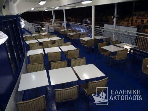 Blue Star Paros - Deck 6 - Open Deck