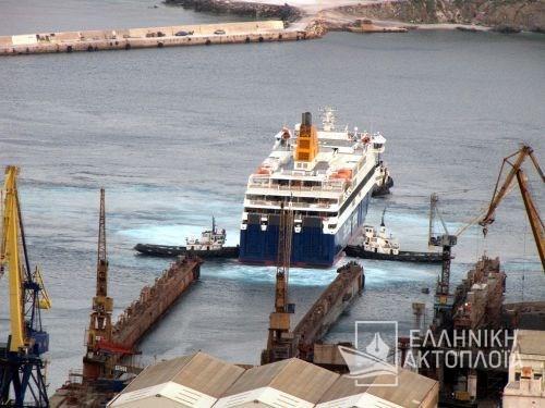 Blue Star Patmos - Dry Docking