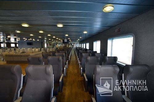 Fast Ferries Andros (ex. Eptanisos) - Deck 6 - Air Seats