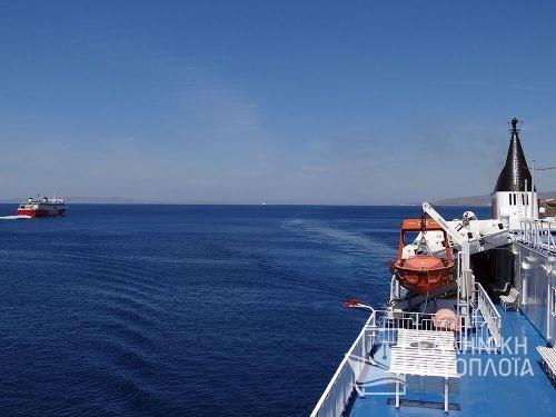 Fast Ferries Andros (ex. Eptanisos) - Deck 7 - Open Deck