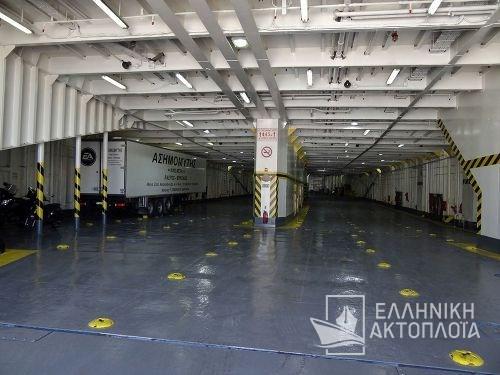 Fast Ferries Andros (ex. Eptanisos) - Garage