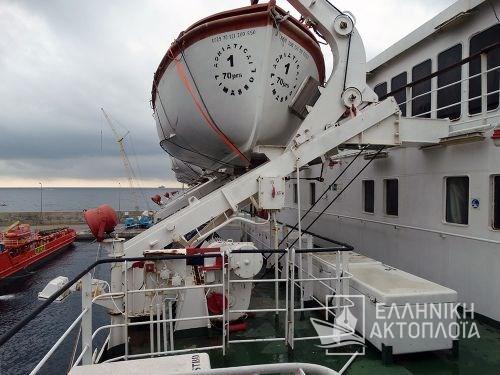 Galaxy (ex. Adriatica I) - Dry Docking