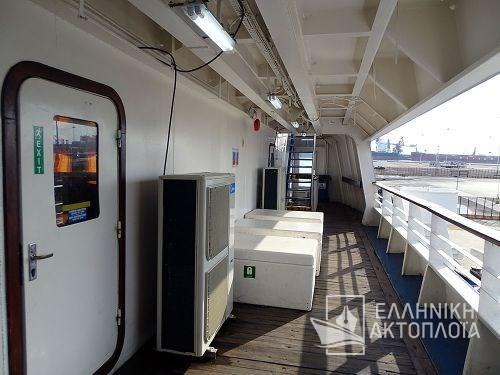 Galaxy (ex. Adriatica I) - Deck 6 - Open Deck
