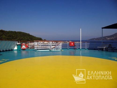 Aqua Blue (ex. Aqua Azzuro, Kiara, Ierapetra L.) - Deck 8 - Open Deck