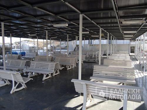 Marmari Express - Deck 5 - Open Deck