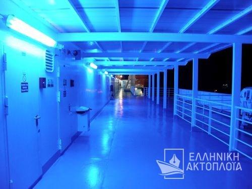 Nissos Chios - Deck 8 - Open Deck