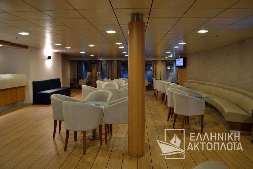 Nissos Rodos (ex. Hellenic Voyager) - Deck 7 - Ialyssos Lounge