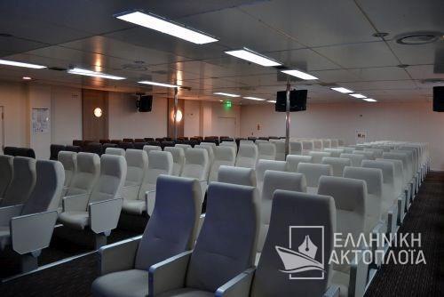 Nissos Rodos (ex. Hellenic Voyager) - Deck 8 - Airseats