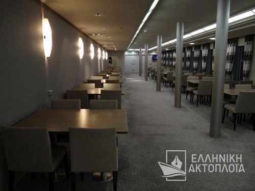 Nissos Rodos (ex. Hellenic Voyager) - Deck 8 - Restaurant