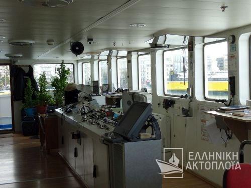 Posidon Hellas - Deck 6 - Wheel House
