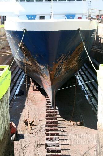 Stavros (ex.Saos II) - Dry Docking