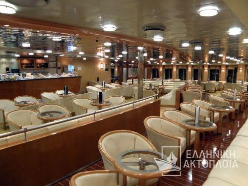 Kydon (ex. Sophocles V.) - Deck 6 - Cafe del Mar
