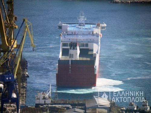 Superfast I - Dry Docking