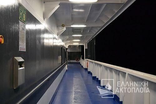 Superfast I - Deck 5 - Open Deck