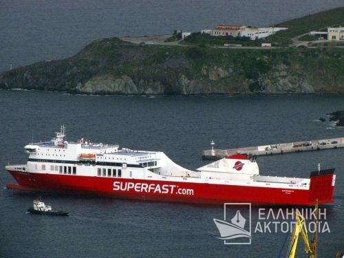Superfast II - Dry Docking