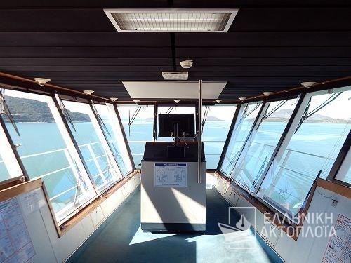 Euroferry Corfu - Deck 11 - Wheel House