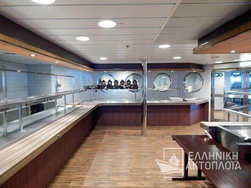 Euroferry Corfu - Deck 7 - Food Room