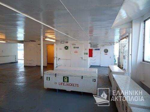Euroferry Corfu - Deck 7 - Open Deck