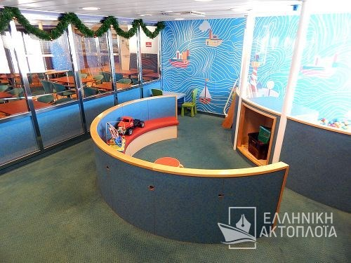 Euroferry Corfu - Deck 7 - Playroom