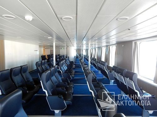 Euroferry Corfu - Deck 8 - Airseats