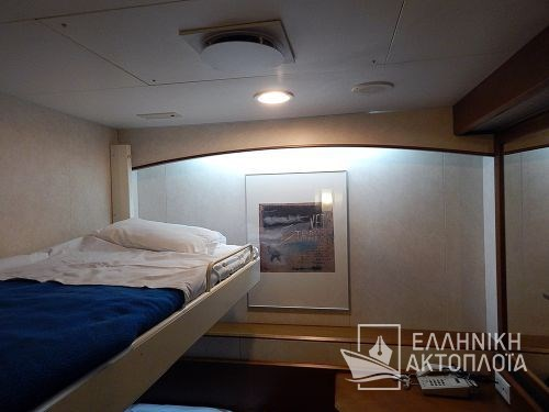 Euroferry Corfu - Deck 9 - Cabins