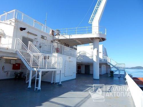 Euroferry Corfu - Deck 9 - Open Deck