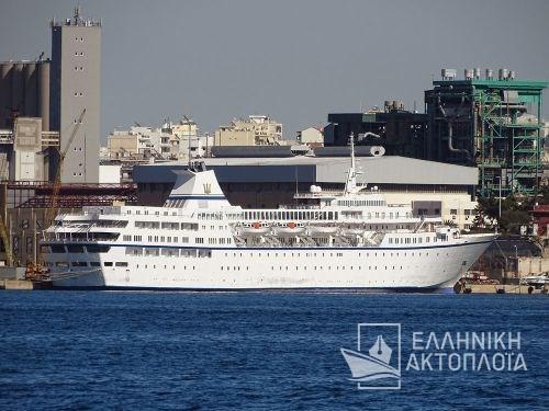 Aegean Odyssey - Dry Docking