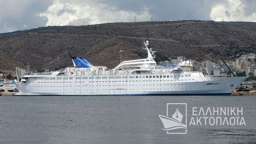 Aegean Queen (ex.Louis Aura, Orient Queen) - Dry Docking